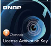 QNAP LIC-CAM-NAS-3CH 3 Camera License Activation Key for Surveillance Station Pro for QNAP NAS