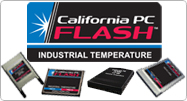 California PC FLASH - Industrial Grade Flash Memory